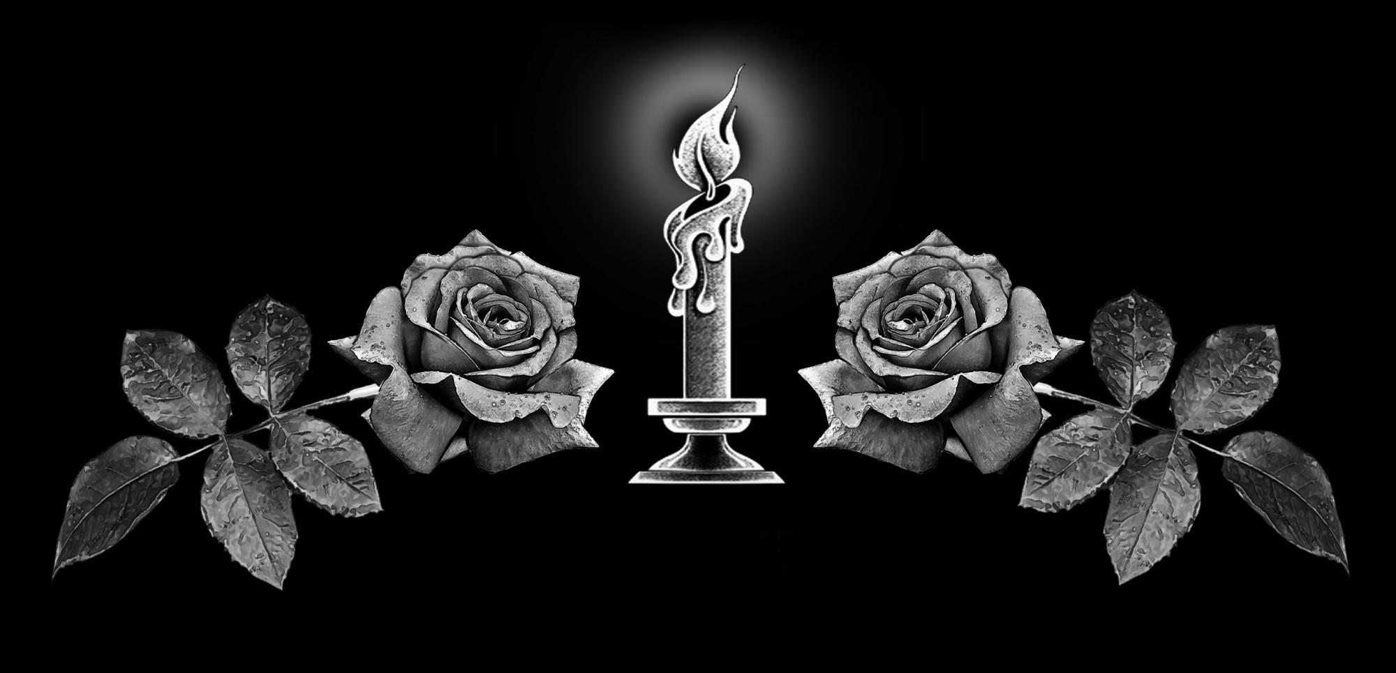 работе картинки цветов и свечей на надгробии это мексиканский